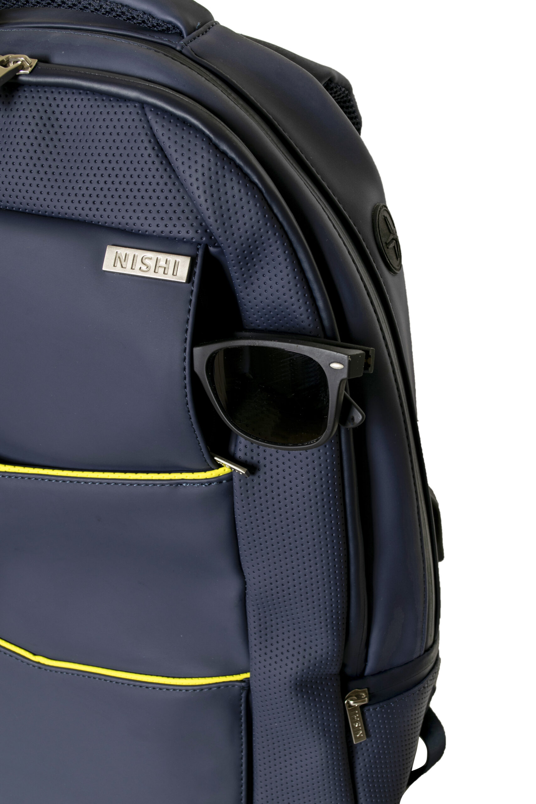 Business backpack - Sunglasses section