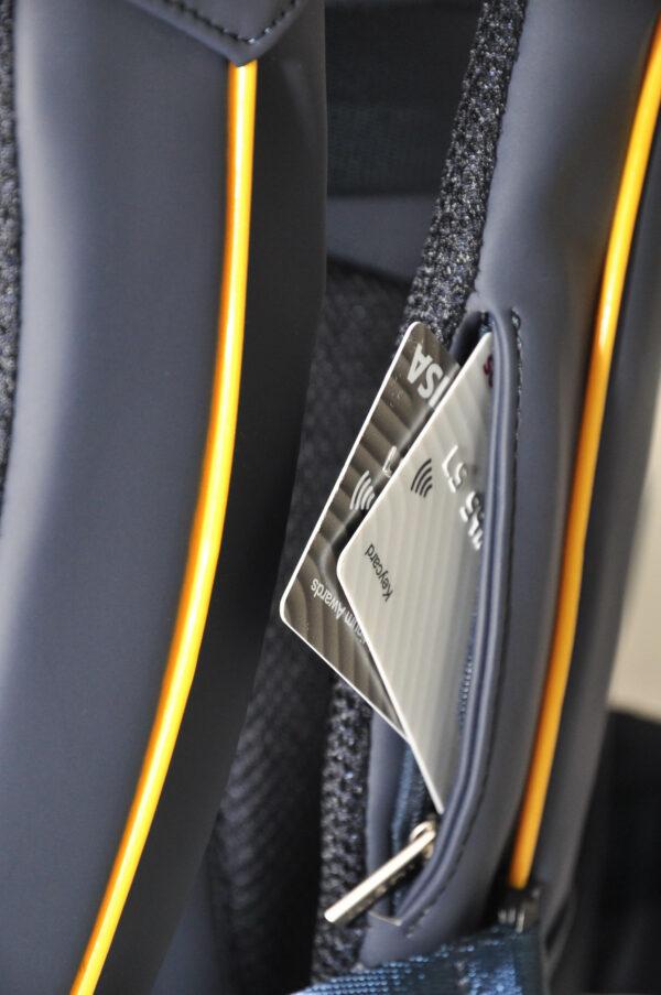 Business backpack - RFID slot